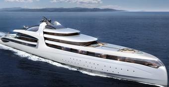 Admiral X Force 145 – najdroższy jacht motorowy świata [ZDJĘCIA]