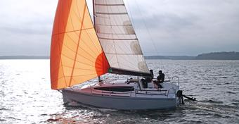 TEST jachtu żaglowego Maxus evo 24 [WIDEO]