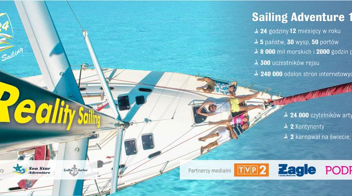 Reality Sailing 24: pierwszy taki projekt w Polsce!